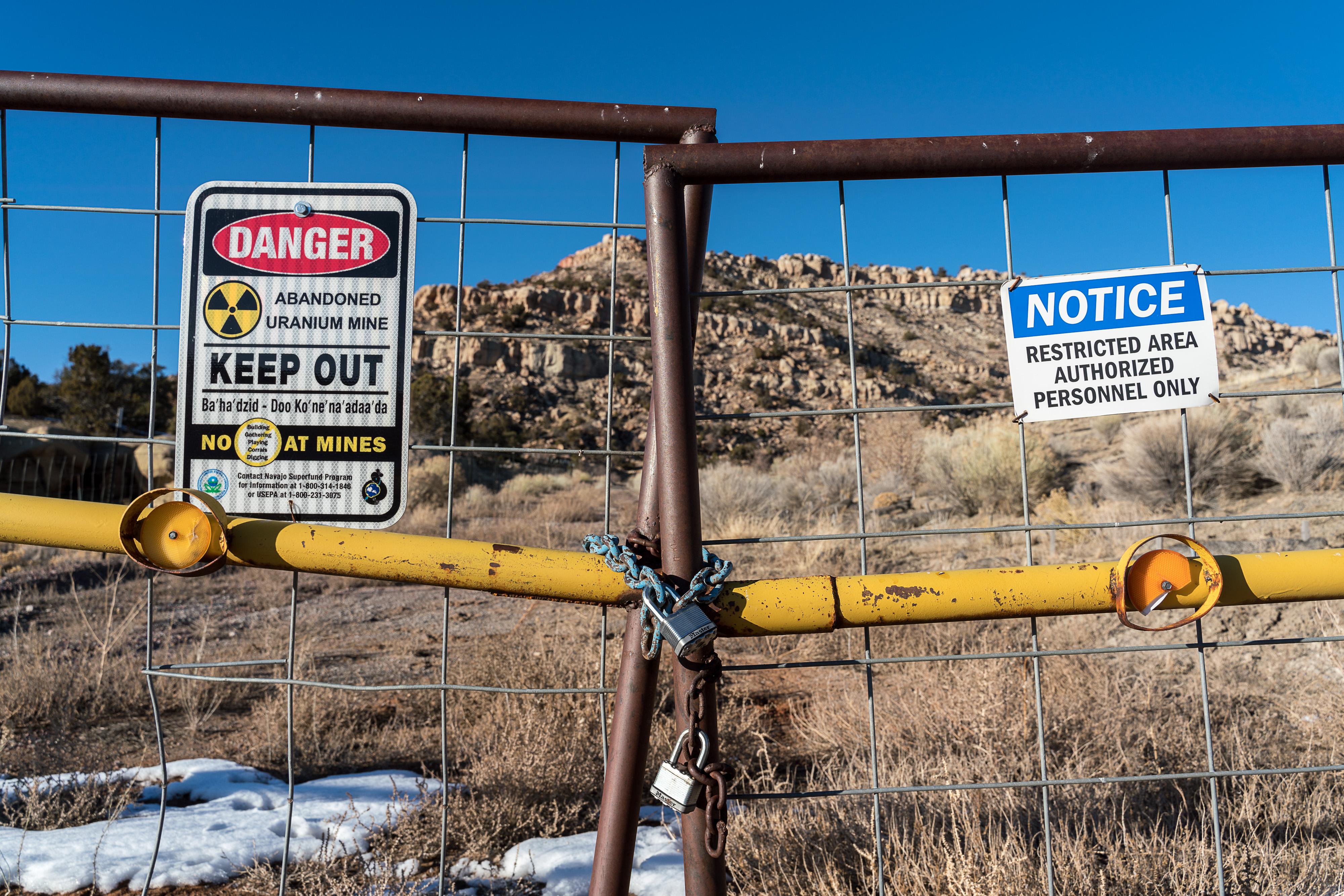 Navajo Nation uranium mining clean-up